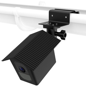 Image 2 - for Arlo Pro 2/Arlo Pro Camera Outdoor Gutter Mount with Weatherproof Protective Case Surveillance Camera Mounting Brackets