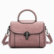 Fashion Crossbody Bag For Women Messenger Bags 2018 Vintage Leather Bags Handbags Women Famous Brand Small Shoulder Tote Bag zooler bags handbags women famous brand crossbody bag small superior cowhide leather messenger bag for lady mini bag 3821