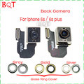 Brand NEW for Apple IPhone 6s Back Camera Rear Camera Module Flex Cable With Back Camera Glass Lens Ring Cover