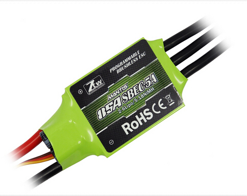 Superior Hobby ZTW Mantis SBEC 5A series ESC 85A ztw mantis series 45a esc electronic speed controller high quality