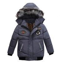 2017 New Fashion Children S Winter Thick Down Jacket Boys Down Jacket Down Jacket Wear Coat