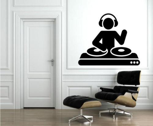 G280 музыка dj группа номер клубы дома Спальня Наклейки на стену виниловые наклейки Развлечения игровая комната Наклейки на стену декоративны...