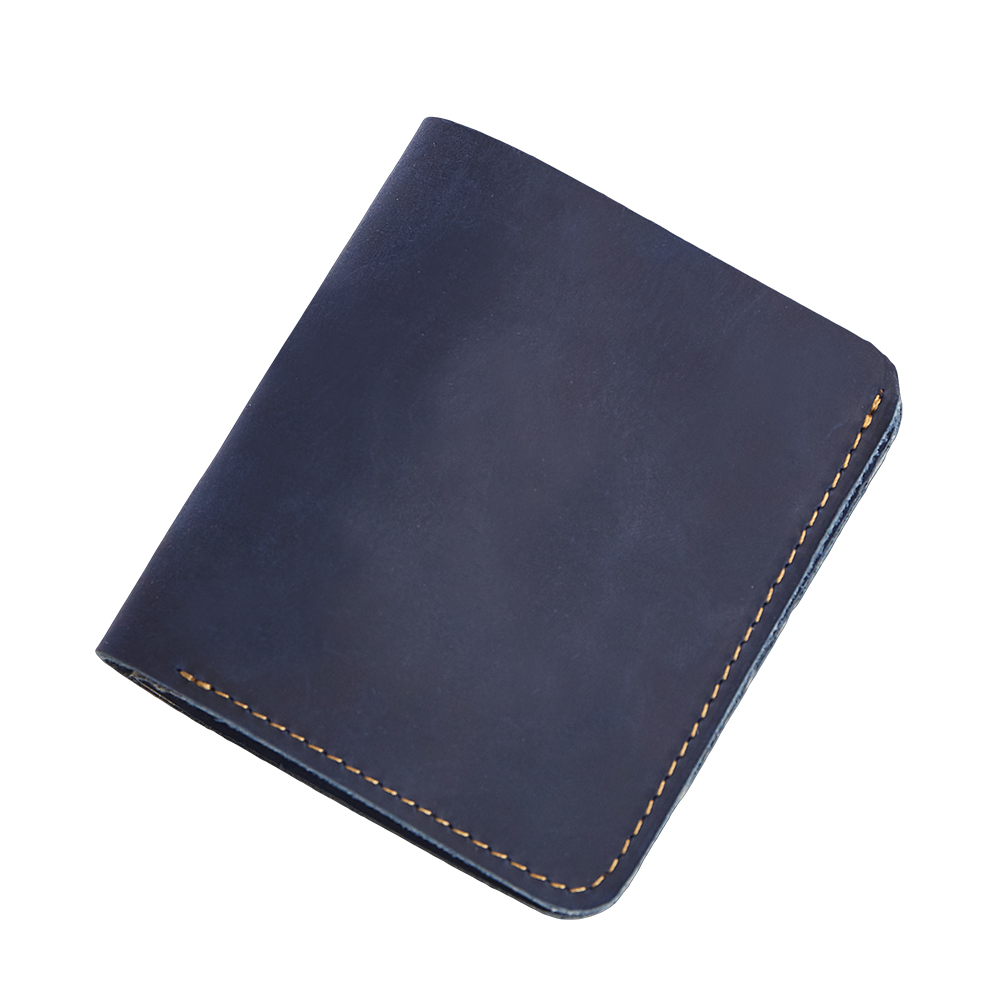 COMFORSKIN Brand RFID Protection Short Retro Simple Style Men Purses Premium 100 Genuine Leather Leisure Men Wallet 2018 Hot in Wallets from Luggage Bags