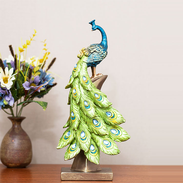 Aliexpress.com : Buy Modern European Home Appliances, Living Room  Decoration, Tv Cabinet Decorative Ornaments, Peacock Ornament Miniature  Decoration From ...