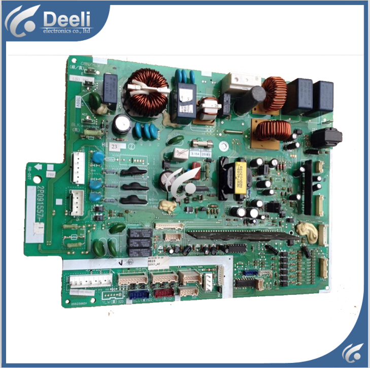 Objective Original For Air Conditioning Computer Board Motherboard 2p091557-1 Rx56av1c Pc Board Bright In Colour Home Appliances