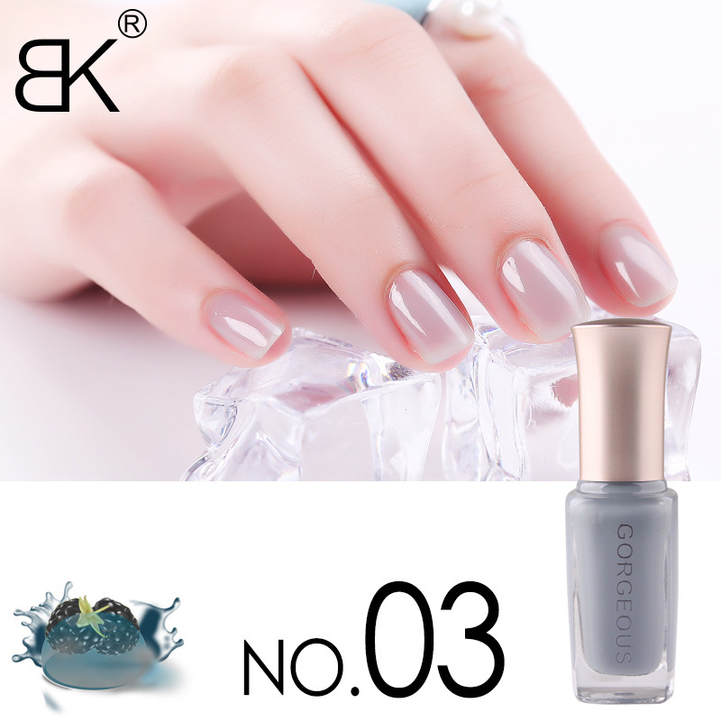 New Nail Polish Candy Nude Color Quick-drying Translucent Jelly Nail Polish 10ML Environmental Protection Lasting Unpeelable 2