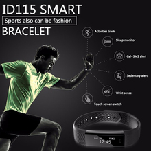 ADORARE Original ID115 Sports Smart Watch Men Woman Fitness Tracker Bracelet Step Counter Activity Alarm Clock Wrist Watch