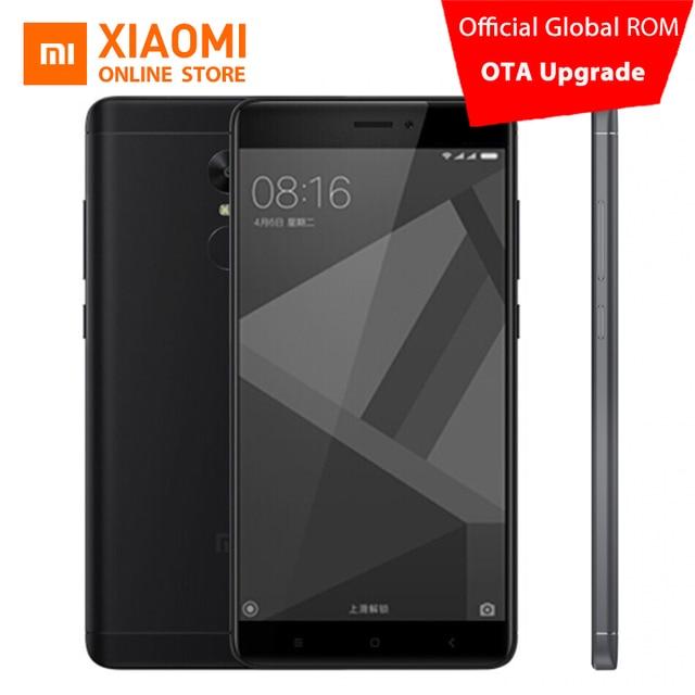 """Xiaomi Redmi Note 4X Mobile Phone 4GB RAM 64GB ROM MTK Helio X20 Deca Core CPU 5.5"""" 1080p display 13MP Camera 4100mah MIUI8.1"""