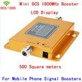 Mini LCD 2G 4G LTE 70dB GSM DCS 1800 MHz Celular Repetidor de Sinal de Telefone móvel Impulsionador/Repetidor/Amplificador + Carregador De Energia