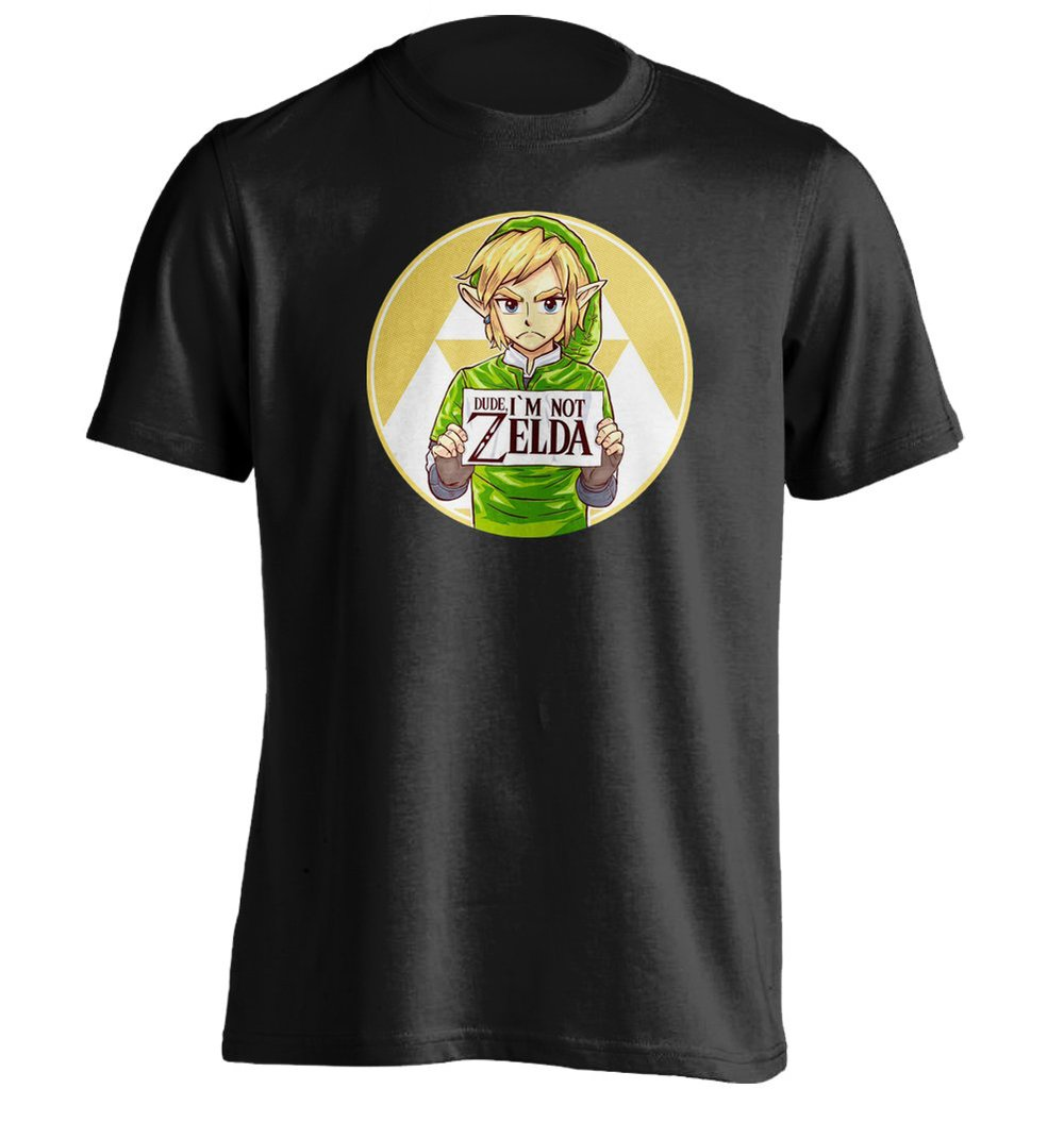 Design your own t shirt montreal - Dude Im Not Zelda Mens Personalized T Shirt Printing Tee In T Shirts From Men S Clothing Accessories On Aliexpress Com Alibaba Group