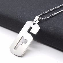 Samyeung Game Rainbow Six Siege Necklaces for Male Tom Clancy's Silver Link Chain Necklace Collar Women Men Jewelry(China)