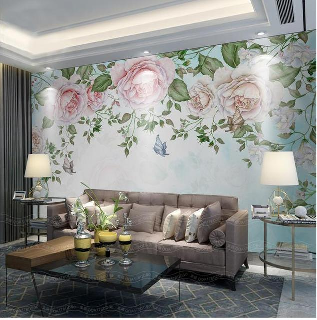 Living Room 3d Wallpaper aliexpress : buy 3d wallpaper custom photo mural non woven