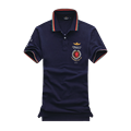 Новый 2016 air force one Новый Летний Мужчины Бренд Поло Одежда Твердые Известный Camisa Masculina Мужские Рубашки Поло Бизнес Случайный