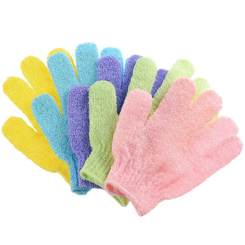 Bath Exfoliating Gloves Shower Gloves Bath Scrubber Body Spa Massage Dead Skin Cell Remover For Men Women Skin Care Tool
