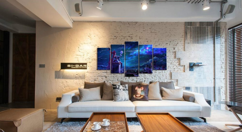 5 Piece Canvas Wall Art Painting HD Print Paintings on Canvas Wall Art League of Legends Game Home Decorations Wall Artwork in Painting Calligraphy from Home Garden