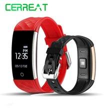 S2 Bluetooth Smart Band Браслет Heart Rate Мониторы IP67 Водонепроницаемый SmartBand Reloj inteligente смарт-браслет для iOS и Android