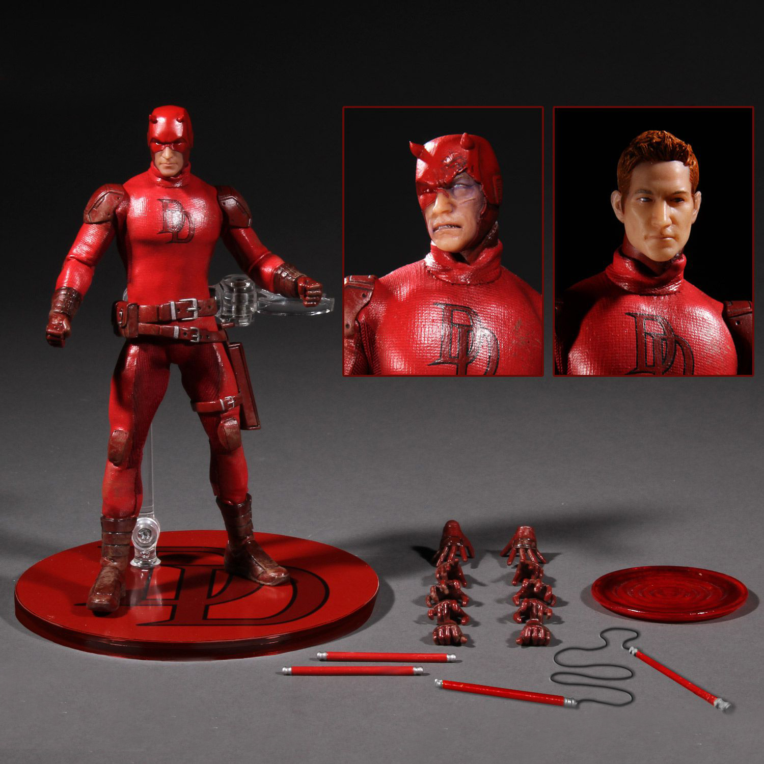 Marvel Super Hero Daredevil 1:12 Action Figure Toys