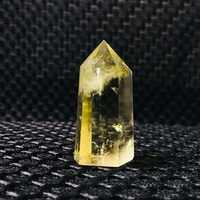 Hot sale! Natural citrine quartz crystal wand point smoky yellow quartz crystals point reiki healing as gift