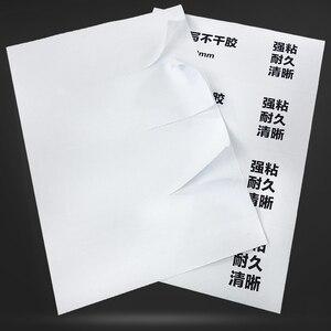 Image 3 - Jetland A4 adres etiket sayfaları kendinden yapışkanlı nakliye FBA çıkartmalar lazer/mürekkep püskürtmeli yazıcı, a4 Die cut etiketler, 50 yaprak/paket