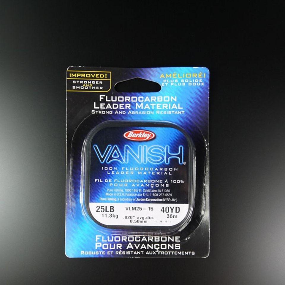 Berkley Vanish 100/% Fluorocarbon Leader Material