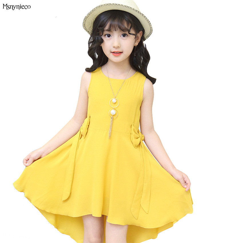 Children Dress Summer 2018 New Casual Princess Girl Sleeveless Party tutu Dress Kids Dresses for Girls Clothes 4 6 8 10 12 Years retail fashion summer girl dress sleeveless kids dresses for girl tutu party dress lace polka dot novatx brand girls clothes