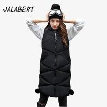 Fur Vest Limited Solid Fashion Vest Jalabert 2017 Winter Women New In The Long Paragraph Warm
