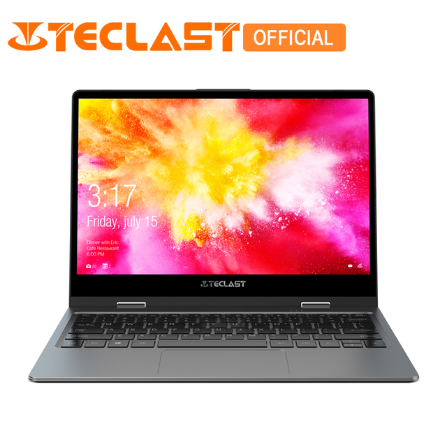 Teclast F5 Laptop Intel Gemeos Lago N4100 Quad Core Windows10 8 GB de RAM 128 GB SSD 360 Rotação da Tela de Toque 11.6 polegada Notebook PC
