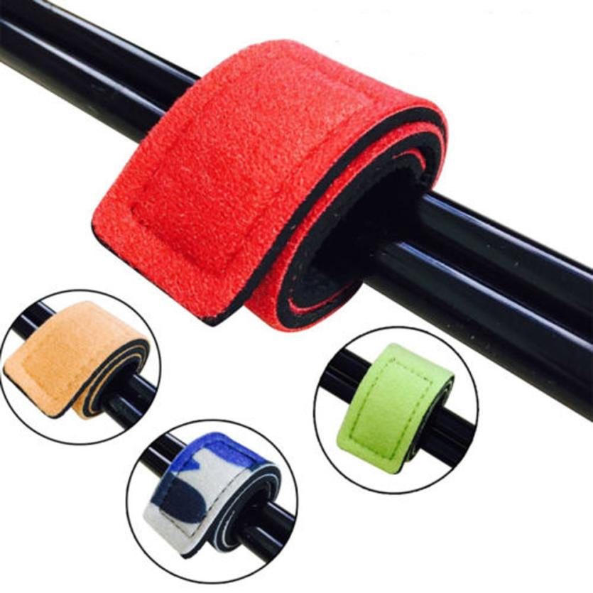 Fishsunday Fishing Rod Tie Strap Belt Tackle Elastic Wrap Band Pole Holder Tool Accessories  0717