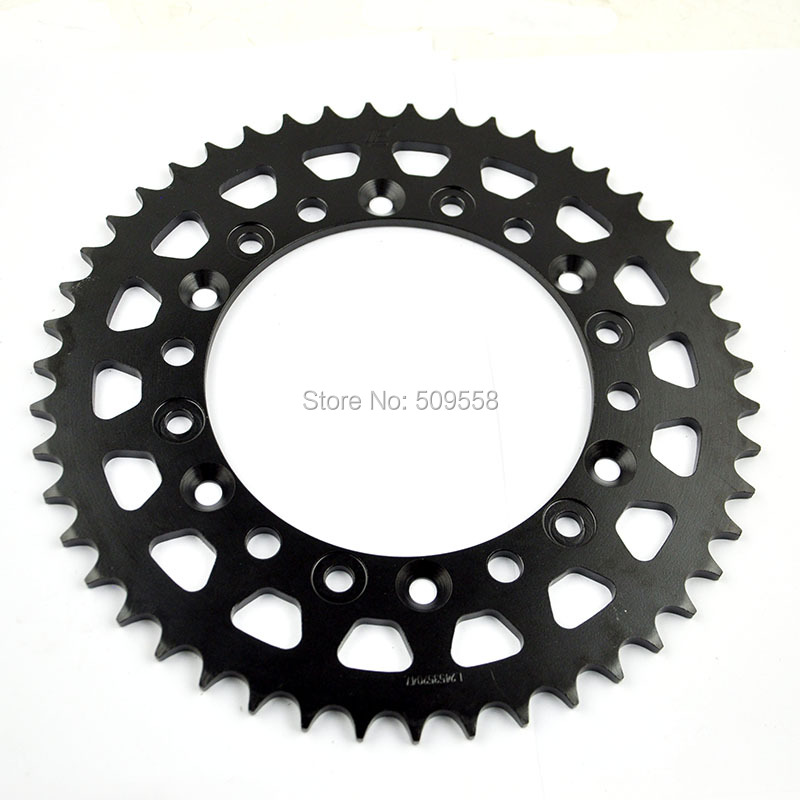 LOPOR For Honda NX650 M,N,P,R Dominator RD02 91-94 XR600R 88-90 YZF750 R 520 Chain Conversion 93-97 motorcycle Rear Sprocket