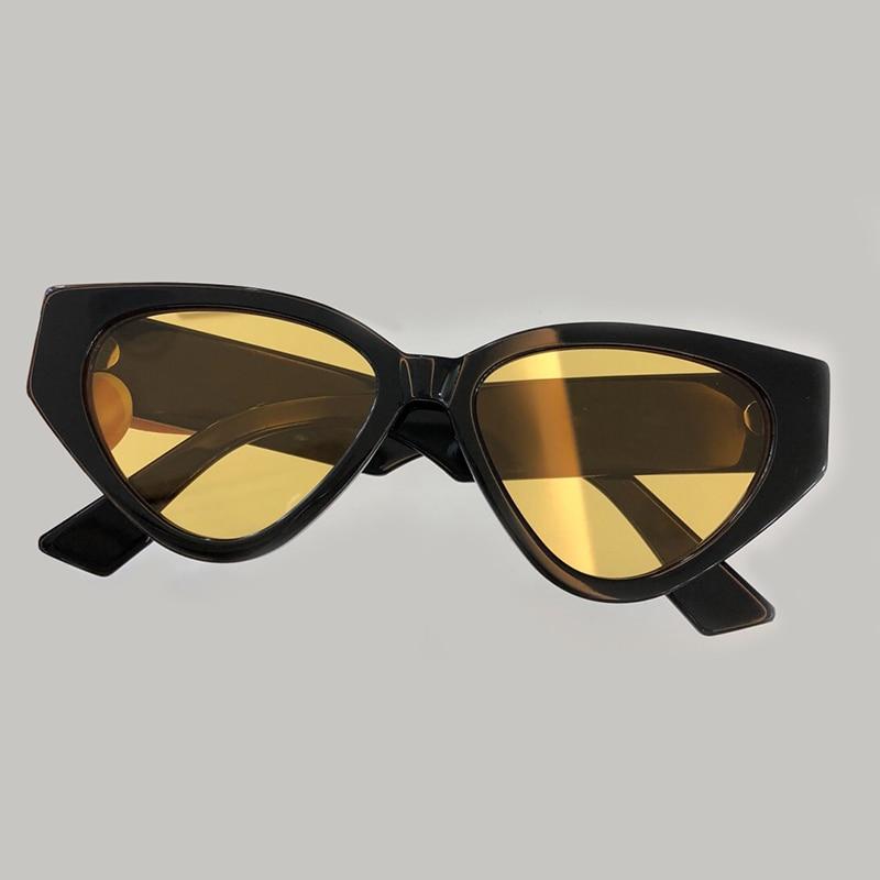 Cat Eye Sunglasses for Women Brand Designer High Quality Oculos De Sol Feminino Vintage Fashion Female Acetate Frame UV400 Lens