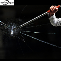 Наружный Мультифункциональный музыкальный инструмент из нержавеющей стали флейта Xiao Bamboo автомобиль сломанное стекло/Самозащита/наружный
