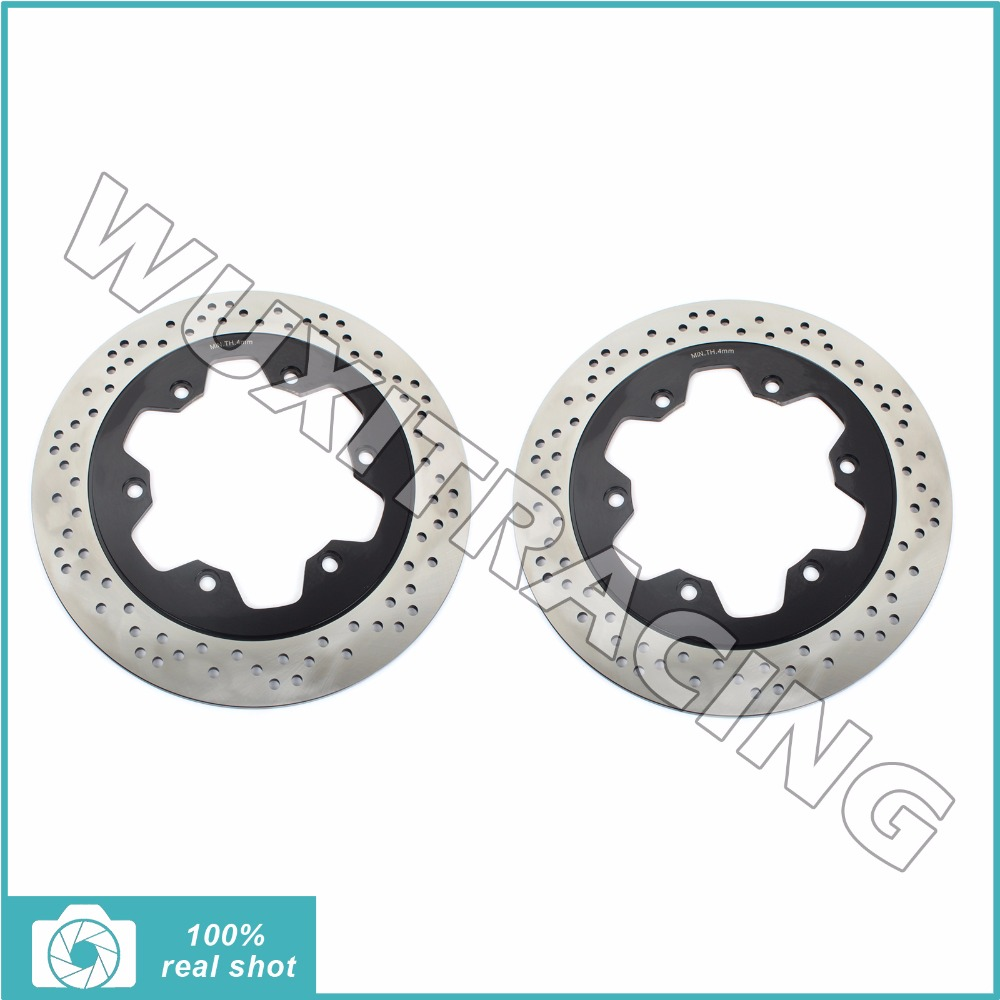 Front Brake Discs Rotors for TRIUMPH Speedmaster 790 865 Carb EFI 02 09 Thunderbird Sport 885