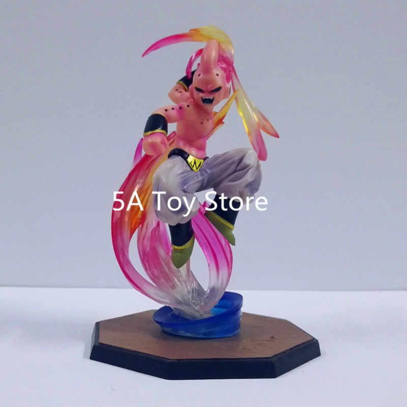 Anime Dragon Ball Z Figura de Ação Super Saiyan Vegeta Majin boo Boo PVC estatueta Colecionáveis Brinquedos Modelo 16 cm