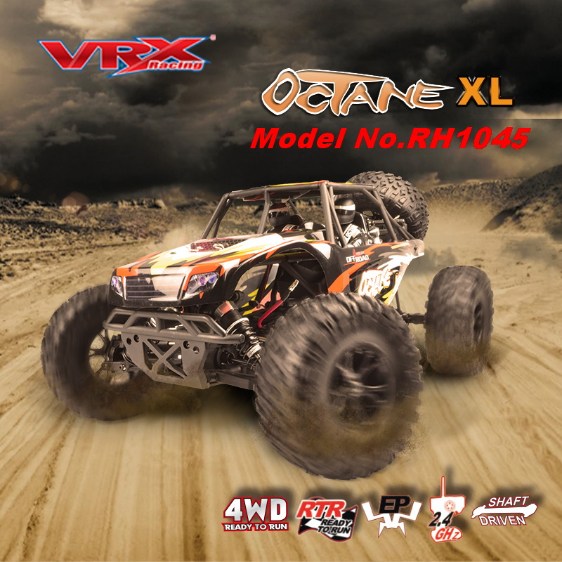 RC car VRX Racing RH1045 desert card 1 10 scale 4WD brushless RTR 45A ESC 3650