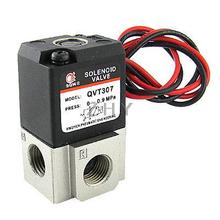 DC 24V Three Way Two Position 1/4″ NPT Solenoid Valve