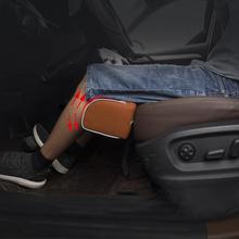 Car Seat Cushion Foot Support Leather Pillow Leg Longer Car