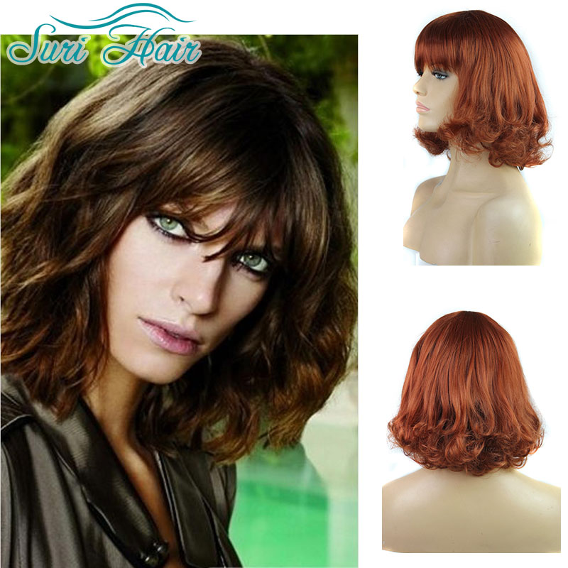 Perruque Synthetic Women Synthetic Wigs For Black Women Short Hair Wigs For Women Natural Curly Fake Hair Lolita Wig Cosplay