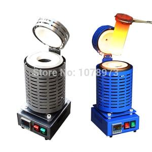 Image 1 - Máquina de fusión de oro de 2kg, horno de fusión de cobre plateado