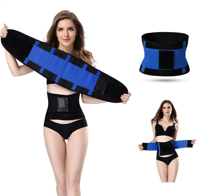 2148973955 hot shapers women slimming body shaper waist Belt girdles Firm Control Waist  trainer corsets Shapswear modeling strap free ship