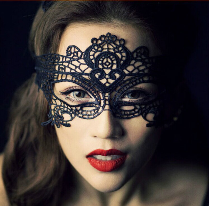 2019 <font><b>Halloween</b></font> New <font><b>Sexy</b></font> Lady <font><b>Lace</b></font> Eye <font><b>Mask</b></font> Venetian Masquerade Ball Party Fancy Dress Costume Theater Prop Mardi image