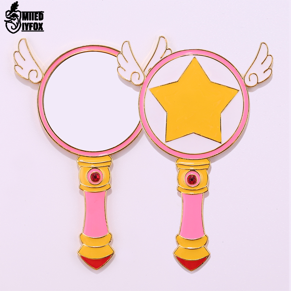Hair Care & Styling Beauty & Health Sunny Free Shipping Sailor Moon/cardcaptor Sakura Comb Mirror Beauty Bird Magic Wand Angel Wings Comb Women Birthday Gift Jewelry