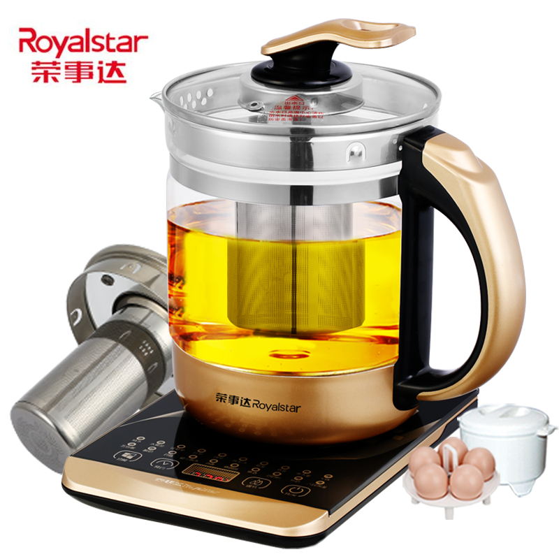 Multi-function 24hour Reservation Health Pot Automatic Thickening Glass Health Kettle Electric Device Black Tea Split Kettle Pot health pot mini automatic thickening glass multi purpose tea kettle flower tea pot boiling pot electric kettle