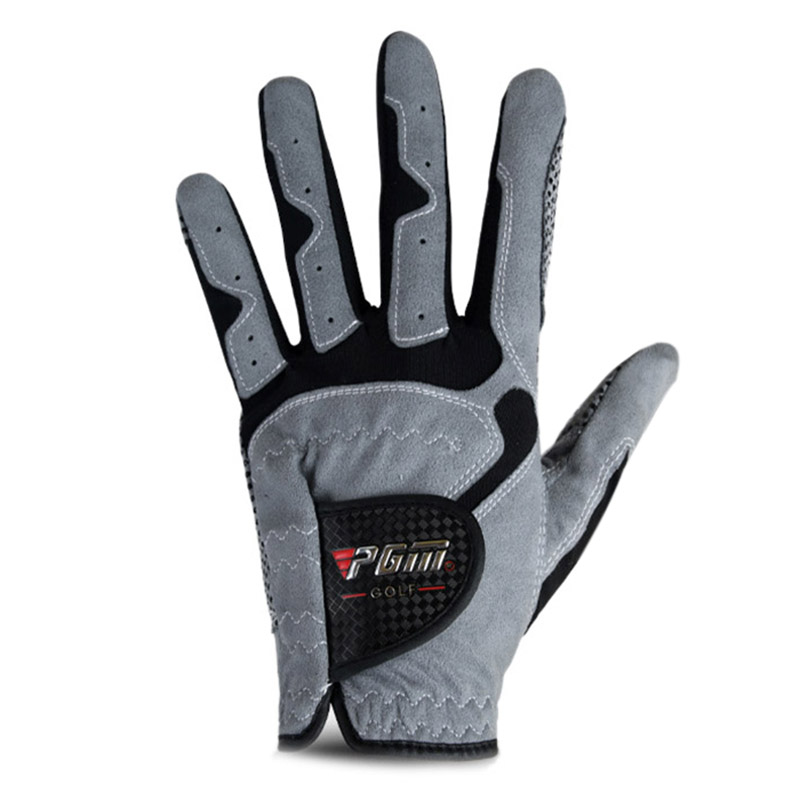 1 PC Golf Gloves Men Pgm Breathable Left Right Hand Gloves Anti-slip Particles Golf Gloves Sports Golf Accessories Free Shipping