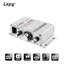 Lepy LP-A6 мини Мощность усилитель цифровой плеер 2CH HiFi стерео аудио автомобильный дома для мобильного телефона MP3 MP4 PC Поддержка объем Управление