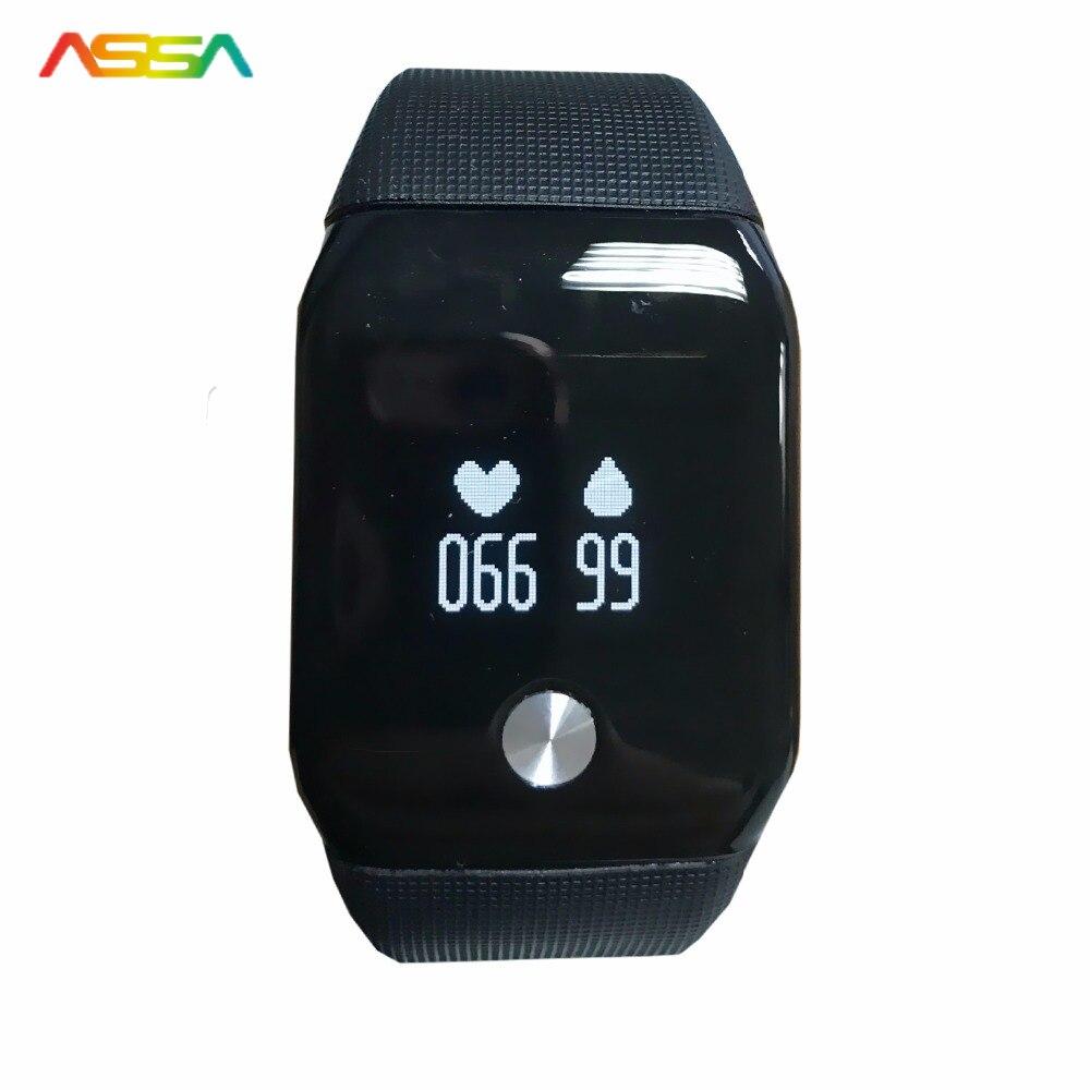 Top Smartwatch Heart Rate Blood Pressure Monitor Smart Watch Pedometer Sports SMS Reminder Men s Wrist