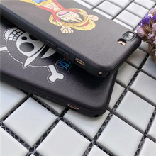One Piece Luffy Soft Leather Cover for iPhone
