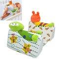 Rã Bonito Dos Desenhos Animados do bebê Recém-nascido Infantil Anti Rolo Travesseiro Sono Cabeça Posicionador Prevent Flat Almofada Dorminhoco Lateral Pro