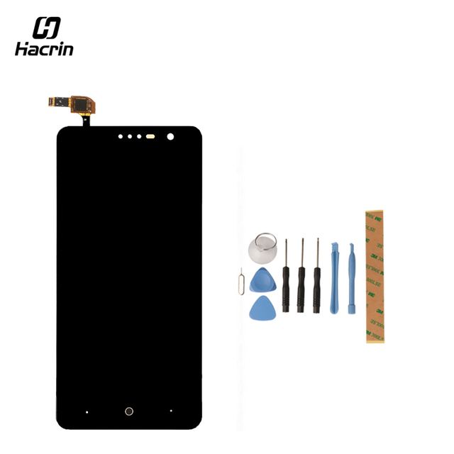 Hacrin for ZTE Grand X4 Z956 Z957 LCD Display+Touch Screen Tools Glass Panel Digitizer Accessories For ZTE Grand X4 Z956 Z957