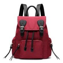 Элегантный дизайн женщины рюкзак сумки на ремне Холст ежедневно рюкзак леди женские рюкзаки женский Повседневная сумка Mochila Feminina