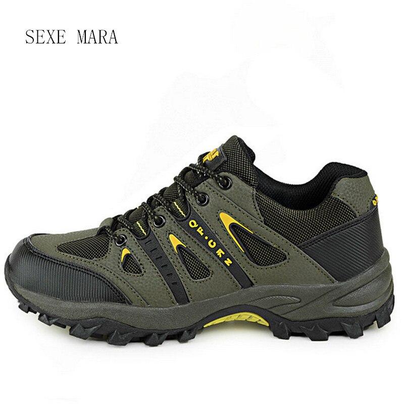 2017 Размер 36–44 уличная спортивная обувь мужская Спортивная обувь мужская Обувь Бег Обувь для мужчин спортивная ходьба противоскольжения вн...